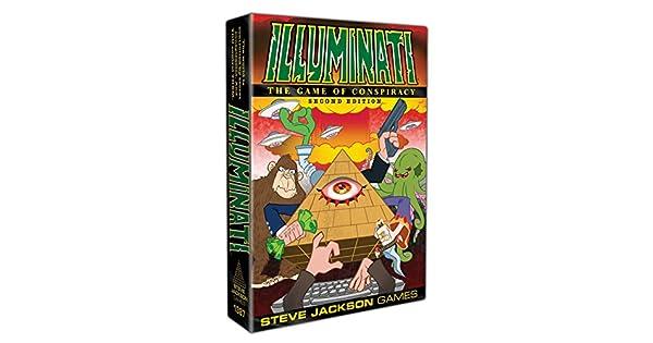 Amazon.com: Steve Jackson Games Illuminati 2nd Edition: Toys ...