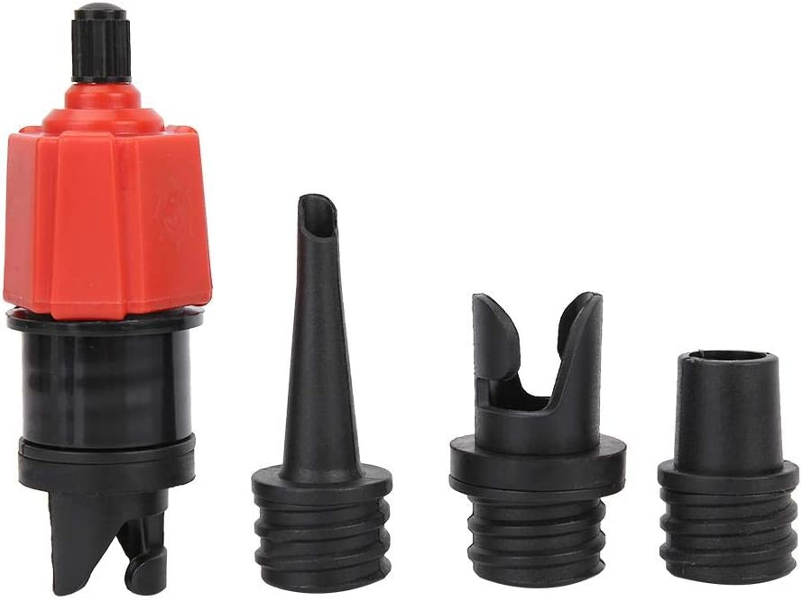 2Pcs Inflatable Boat Pump Adapter Inflating Boat Valve Adapter Air Valve Ad K8W9