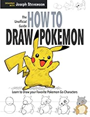 Each page will teach to draw with step-by-step with written instructions. This book is NOT AN OFFICIAL POKEMON PRODUCT. Not approved by or affiliated with Nintendo.
