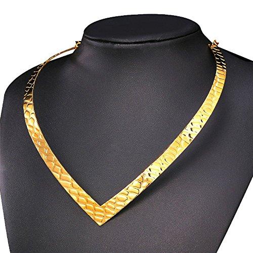 U7 Jewelry Statement Necklace Stainless