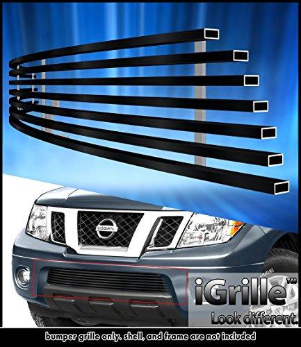 Pathfinder Billet (Off Roader eGrille 05-18 Nissan Frontier/05-07 Pathfinder Bumper Black Stainless Billet Grille)