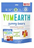 yummy earth gummy bears - YumEarth Gummy Bears,  Assorted Flavors, 10 snack packs