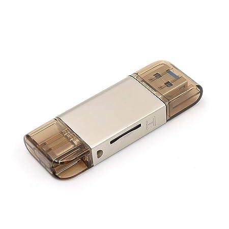 Lector de Tarjetas SD USB C, USB 3.0 Adaptador de Tarjeta TF ...
