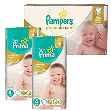 Couches Pampers Taille 4 Premium Care Prima 120 Couches Bebe