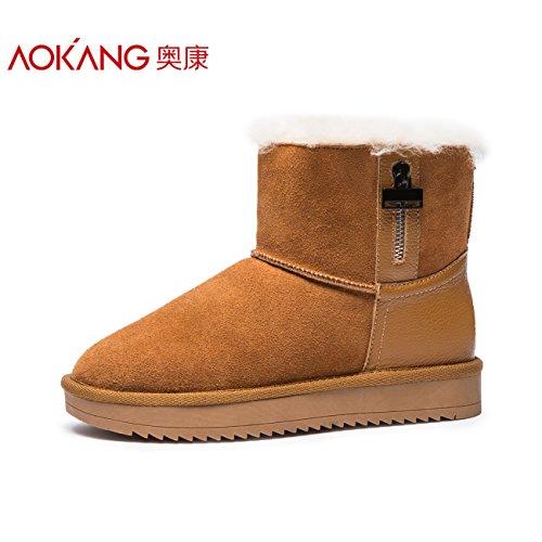 botas nieve mujeres botas algod de de Mujer de Aemember Zapatos cortas wFT0q4w