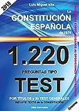 1220 Preguntas Tipo Test. Ley 39/2015, de 1 de octubre