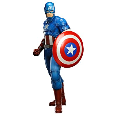 Kotobukiya Marvel Comics Captain America Now! Artfx+ Statue: Toys & Games