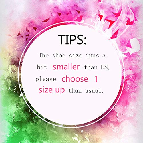 11 2 Shoes Mesh Sneakers Fitness US4 Size Black Slip Sports Women's 420 On Lightweight Wedge Orlancy Walking HOZUqU