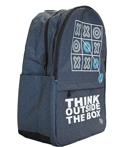 """Blended Designs Think Outside the Box Backpack (Campus 18.5"""") by Blended Designs"""