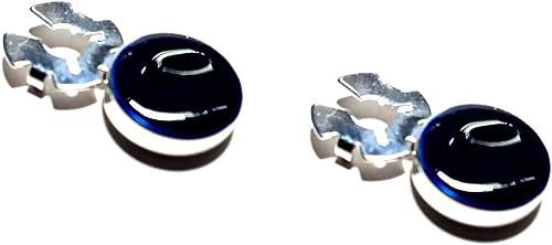 artesanal 1 par de cubrebotones de 15 mm de esmalte de color ...