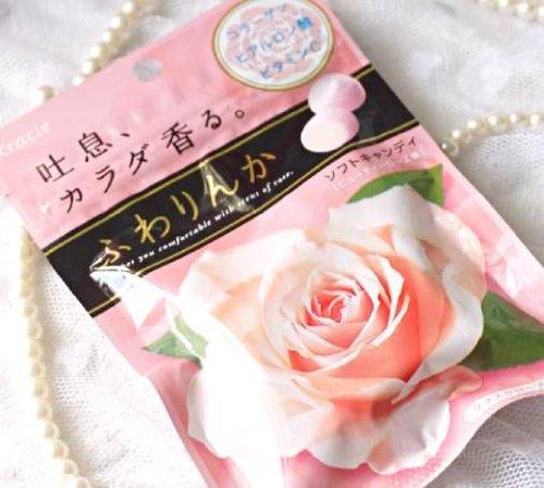 Japan Kracie FUWARINKA Beauty Rose Candy