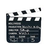 Film Director's Clapper Board