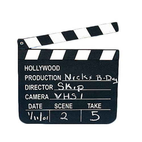Film Director's Clapper Board by Country (Image #1)