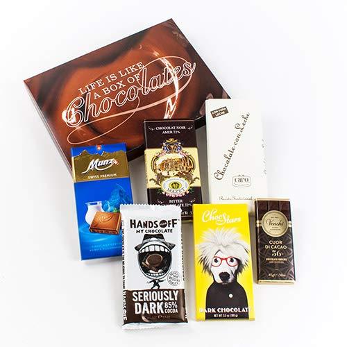Chocolate Bars of the World Gift Box (1.3 pound)