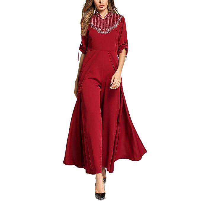 Zhhlaixing Abiti Donna Eleganti da Lunghi Eleganti Maxi 25213c0f4717