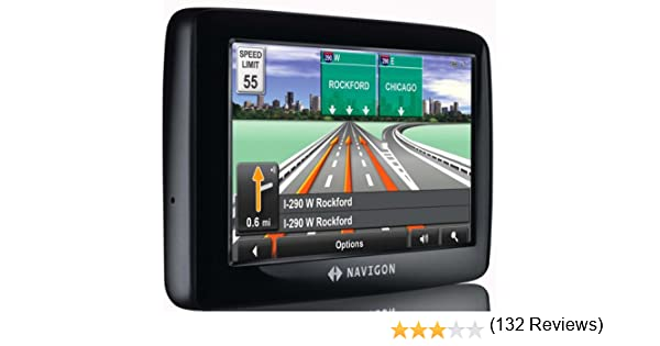 amazon com navigon 2100 max 4 3 inch portable gps navigator with rh amazon com