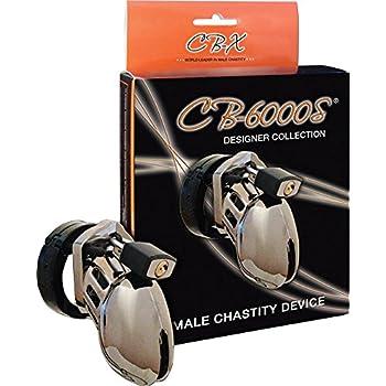 CB-6000S Male Chastity Device, Chrome