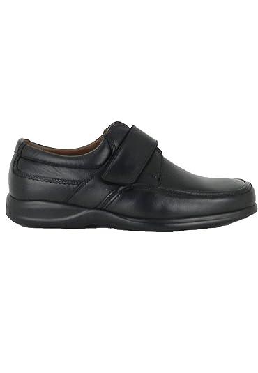 zapattu On Foot - Zapatos Profesional atado en Negro - Negro, 42