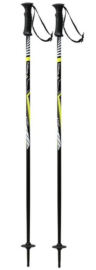 8a6c2a5c8 TECNOPRO XT Carve Ski Jr Black/Silver: Amazon.co.uk: Sports & Outdoors