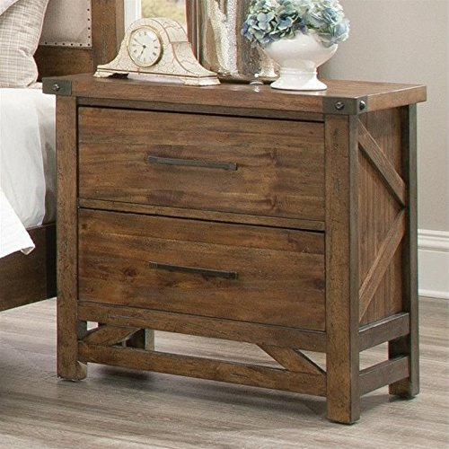 (Coaster Home Furnishings 204172 Bridgeport Collection Nightstand)