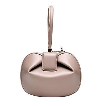 Hi-Smile Mini Cartera Las Bolsas de Asas para Las Mujeres de Cuero de Moda Retro Monedero de la muñeca teléfono Carteras Wristlet Embrague Bolsos, ...