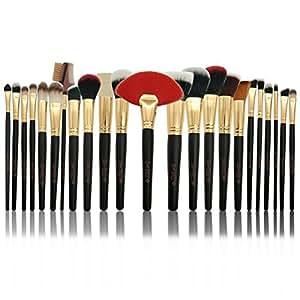 Makeup Brushes 24 Piece makeup brush set Professional Premium Synthetic Foundation Powder Concealers Eye Shadows Makeup Brush Set, – Glam BUZZ