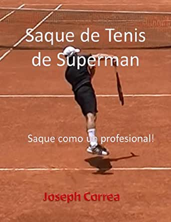 Amazon.com: Saque de Tenis de Superman: Saque como un