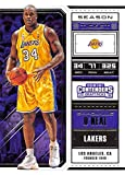 2018-19 Panini Contenders Draft Picks Basketball Season Ticket Variation #48 Shaquille O'Neal Los Angeles Lakers Official NBA Trading Card