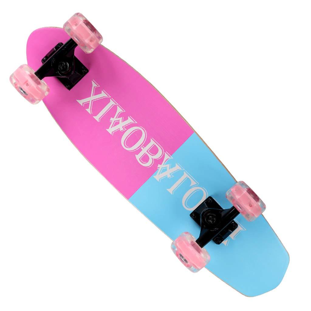 格安販売の DUWEN スケートボード四輪スケートボードティーンダブルロッカースケートボード子供大人のプロスケートボード初心者スクーター(フラッシュホイール) (色 B07NQ5XZP2 : D) (色 B07NQ5XZP2 E : E, ハサミチョウ:e2ae11c1 --- a0267596.xsph.ru