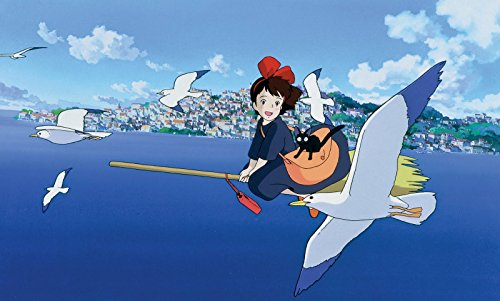 Kiki's Delivery Service 12''x 18'' Movie Poster By A-ONE POSTERS by A-ONE POSTERS