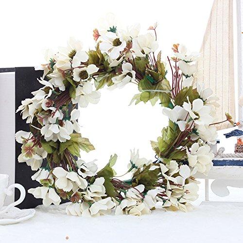 Summer Wreaths Spring Wreath White Daisy Wreath Front Door Wreath Floral Wreath Home Wall Art