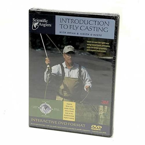 Scientific Anglers Introduction To Fly Casting DVD Training Video Fly Fishing Guide from Scientific Anglers