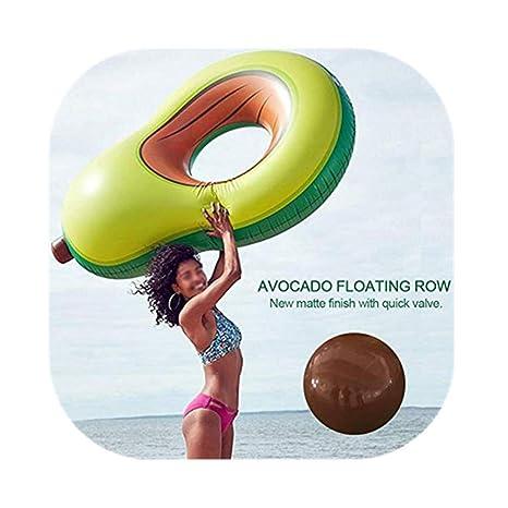 Amazon.com: DaJun flotador hinchable para piscina, flotador ...