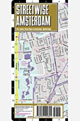 Streetwise Amsterdam Map - Laminated City Center Street Map of Amsterdam, Netherlands (Michelin Streetwise Maps) Map