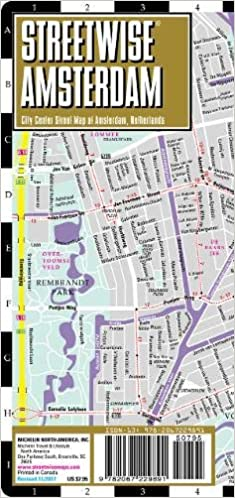 Streetwise Amsterdam Map - Laminated City Center Street Map of
