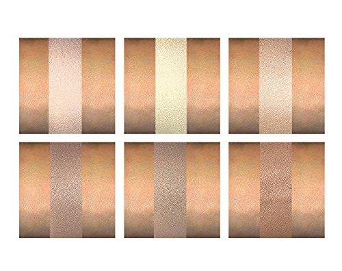 Contour Kit - 6 Pigmented Professional Contour Kit Makeup Palette Set Pro Palette High-end Formula (Highlight & Contour) - Step-by-Step Instructions Included by Karity (Image #6)
