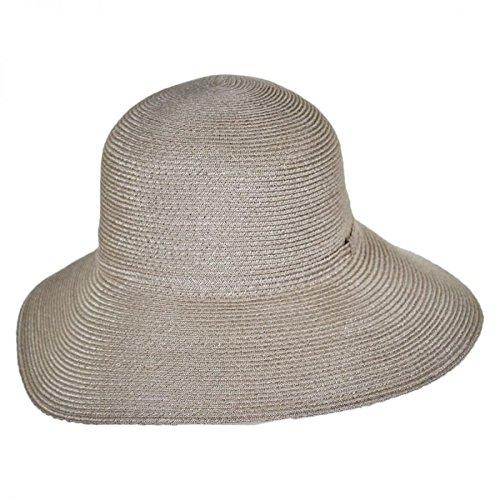 men's Brentwood Lightweight Hemp Straw Sun Hat, Taupe, One Size (Hemp Ale)