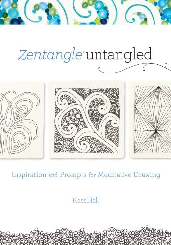 Zentangle untangled inspiration and prompts for meditative drawing zentangle untangled inspiration and prompts for meditative drawing by hall kass fandeluxe Image collections