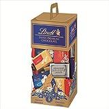 リンツ(Lindt) チョコレート ナポリタン アソートキャリーボックス /4種ミルク、ヘーゼルナッツ、ダーク、クレスタホワイト