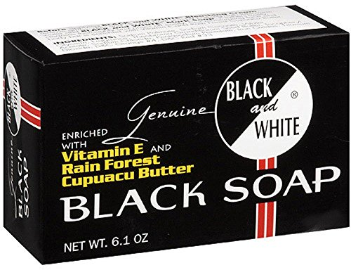 (Black and White Black Soap, 6.1 oz (Pack of 5))