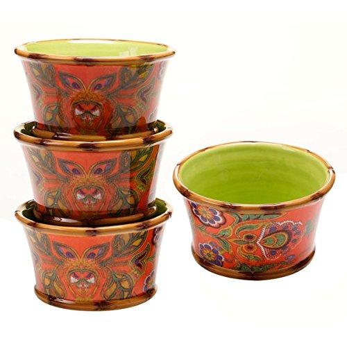 poetic-wanderlust-eden-ranch-multicolor-earthenware-ice-cream-bowls-pack-of-4