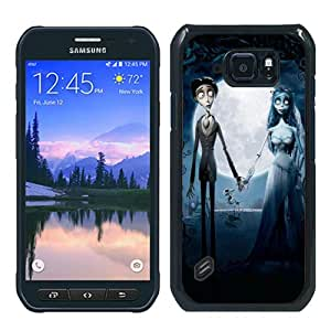 Durable High Quality Corpse Bride Black Samsung Galaxy S6 Active Screen Phone Case