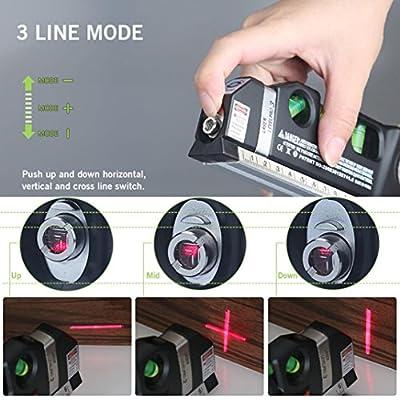 Laser Level,Multipurpose Laser Level laser measure Line 8ft Builders Level