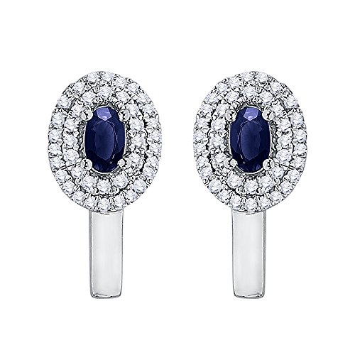 diamond-oval-shape-sapphire-hoop-earring-in-sterling-silver-1-2-cttw-color-gh-clarity-i2-i3