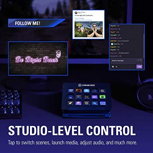 Elgato Stream Deck - Controlador de creación de contenido en vivo y Marvel's Spider-Man: Edición Juego del año - Playstation 4