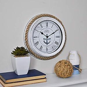 51MdQYb8WlL._SS300_ Best Anchor Clocks