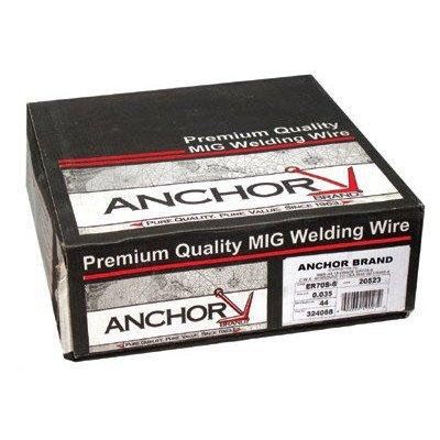 Spool Mild Steel Welding Wire (12 lb Spool) - er70s-6 .023x12 (12# spool) [Set of 12]