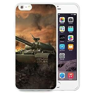 6 Plus TPU case,World Of Tanks Wargaming Net Wot Wz Heavy Tank China Chinese Heavy Tank Wg White iPhone 6 Plus TPU cover