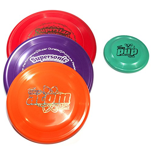Hero SuperStar Combo Canine Flying 4 Disc Set – Free Pup 120