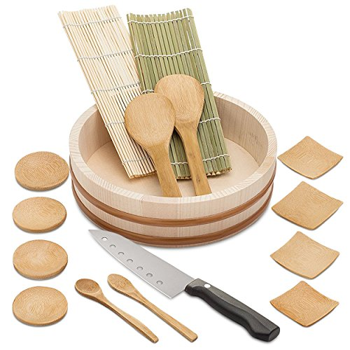 Elvoki Bamboo Sushi Making Kit